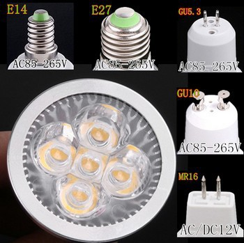 High Power Led lamp 3W 4W 5W 6W GU10 AC85-265V Spot light Spotlight Bulb Cold/Warm White - TOYO house full of romance store