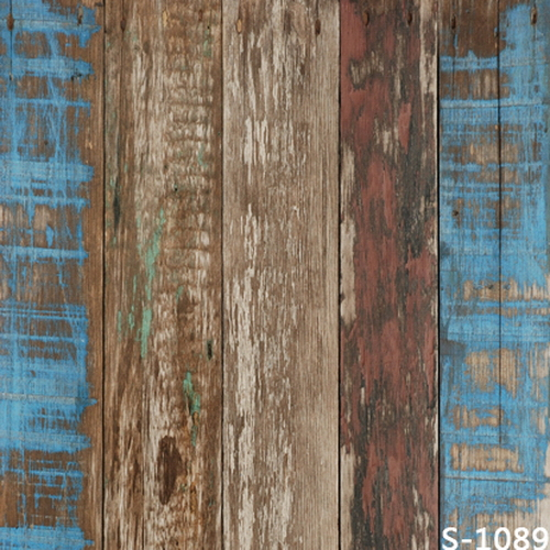 Buy 10x10ft vintage wooden planks wall wood panel board painting custom - Wood panel artwork ...
