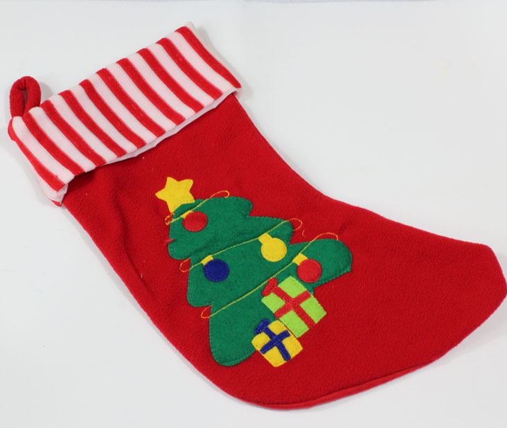 Free Shipping Hot Sale Christmas Stockings Red Sock Tree