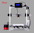 2017 Newest 3d Color Printer Kits Large Size I3 3Dprinter With 2 rolls Filament SD Card