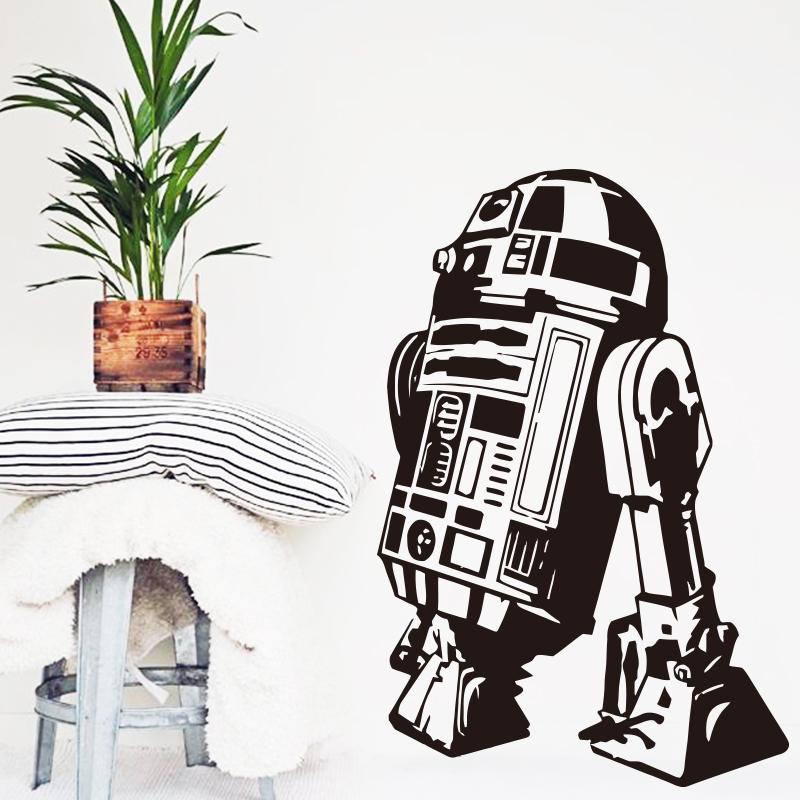 Art Design Home Decoration Star Wars Robot R2 D2 Wall