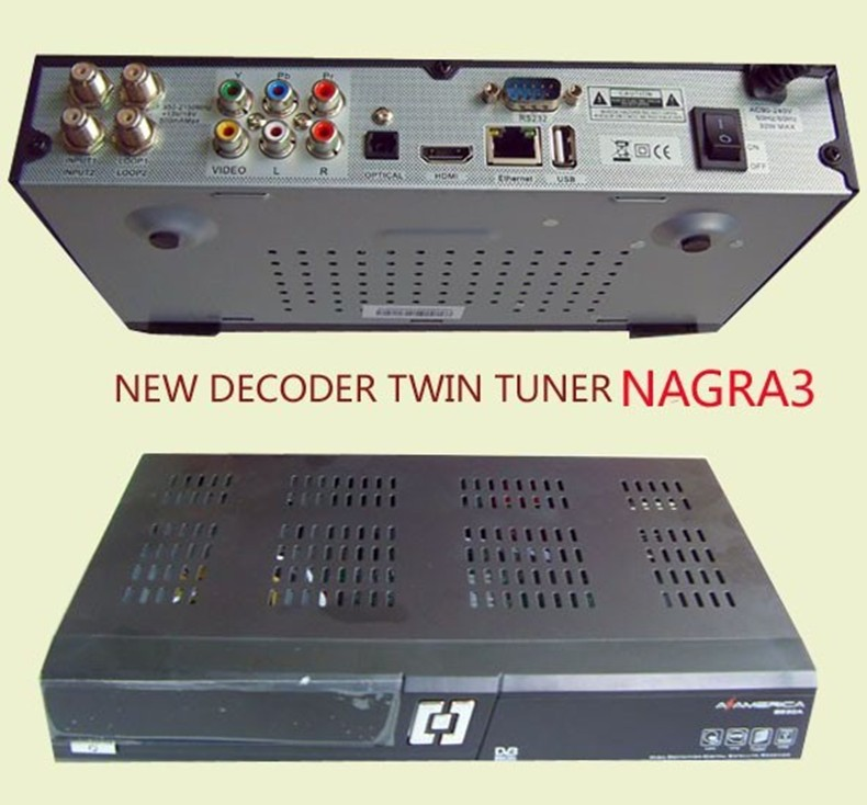 Az americaN S930A twin tuner satellite receiver for south America Nagra3(China (Mainland))