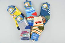 (3 pairs) 2016 Winter Spring Warm Cotton Baby Boys Girls Anti-slip Terry Long Socks Kids Knee High Toddler Sock Leg Warmer  2-3Y(China (Mainland))