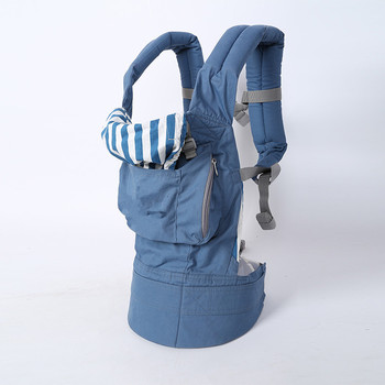 2016 Best Qulity Organic cotton baby carrier infant Sling Toddler wrap Rider canvas baby carriage backpack suspenders