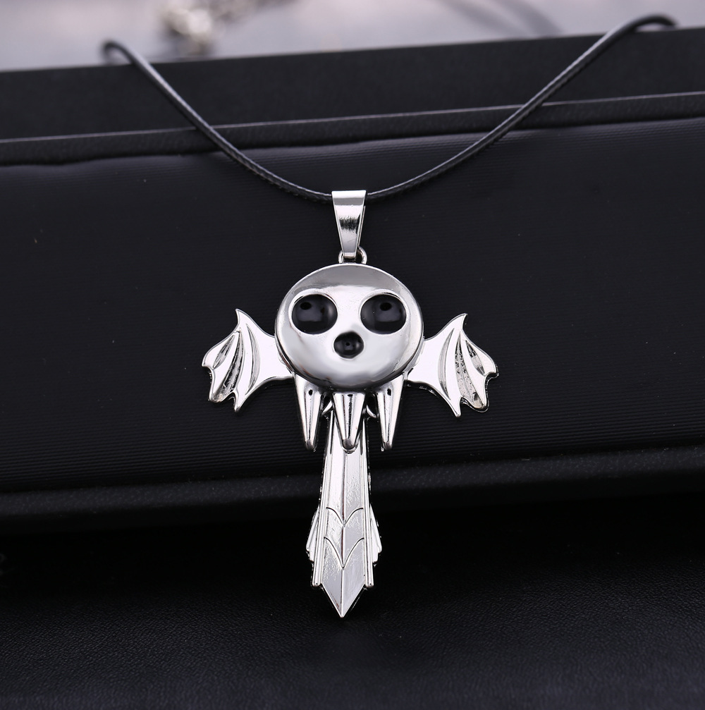 hot Anime Soul Eater Death The Kid Necklace Inspired Pendant Anime Cosplay Accessories Gift AD(China (Mainland))