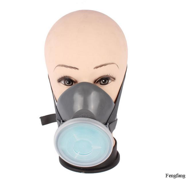 Respirator dust PM2.5 mask gray PVC Filter cotton respirator face mask dust smoke Particulate matter safety masks Free shipping(China (Mainland))