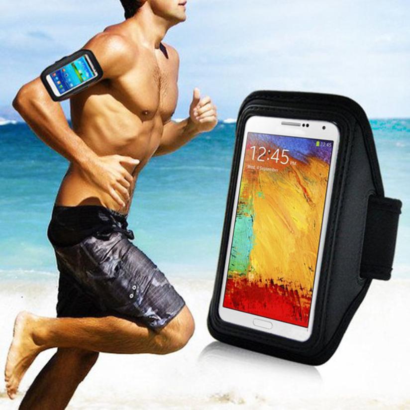 Hot Marketing Sport Gym Running Arm Band Armband Case For Samsung Galaxy Note 3 2 N9000 N7100 Jul7(China (Mainland))