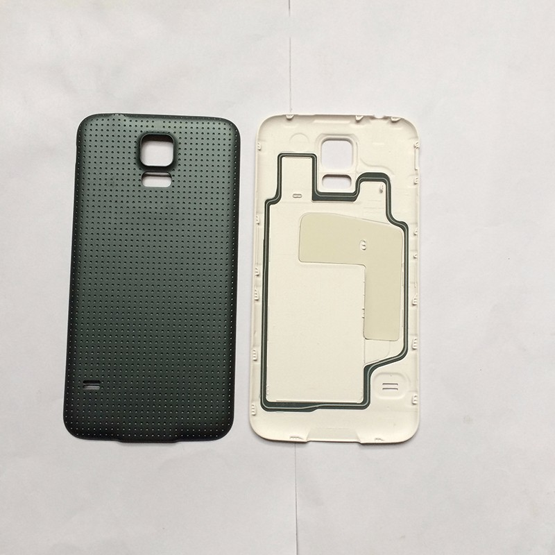 OEM Full Housing Case Parts For Sumsung Galaxy S5 Front Panel Middle Frame Bezel With Back Cover+Front Glass Lens Free Shipping