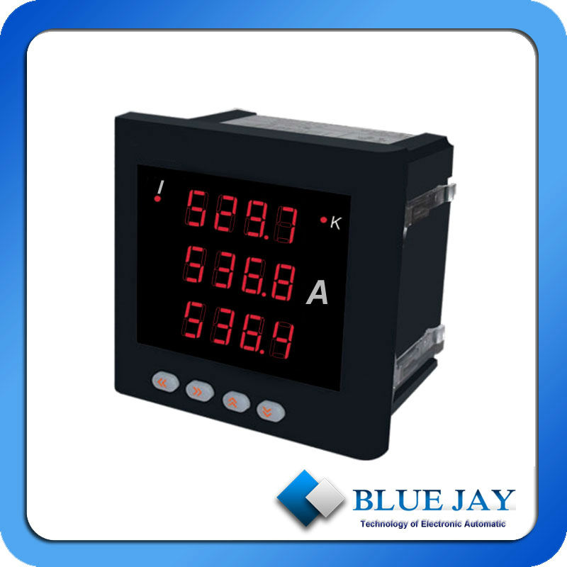 193I-9X4 three phase current meter amp reading, LED display , used in electrical panel cabinets, electrical industry automatic(China (Mainland))