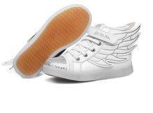 أحذية رياضية على الموضة للأطفال أحذية للأطفال بإضاءة led مزودة بمنفذ USB للشحن أحذية للأطفال والأولاد والبنات أحذية رياضية(China)