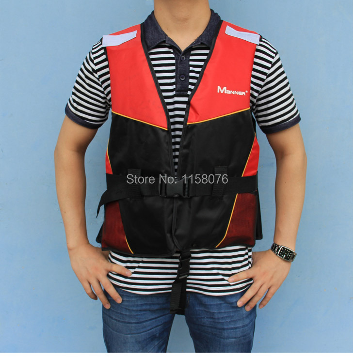 New Manner adult lifejacket Life Vest inflatable boat / dinghy / canoe / applicable(China (Mainland))