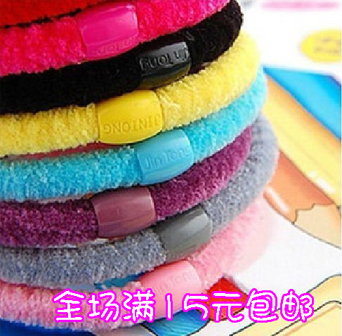 Accessories all-match quality wire beads comfortable headband hair rope hair accessory cotton headband yiwu(China (Mainland))