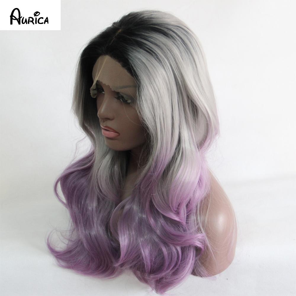 purple gray ombre hair wwwimgkidcom the image kid