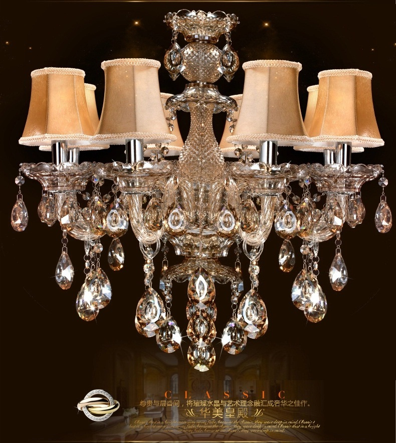 Vintage free shipping crystal lighting chandelier indoor lighting crystal chandeliers bedroom - Dining room crystal chandelier ...