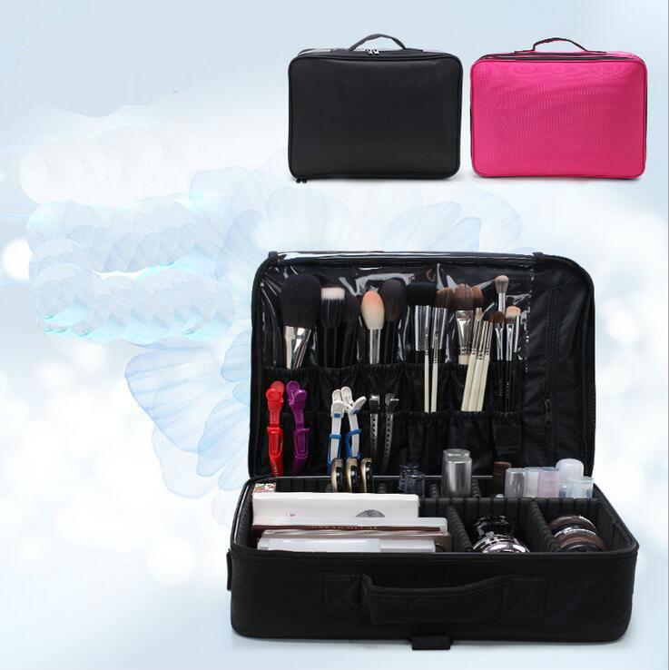 Caja de maquillaje profesional compra lotes baratos de caja de maquillaje profesional de china - Organizador profesional ...