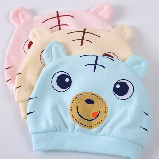 2015 New style Baby hat 100% Cotton Cartoon pattern Baby cap(China (Mainland))