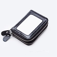 Buy New Unisex Slim ID Credit Card Holder PU Leather Business Name Credit ID Card Holder Pocket Case Wallet Men Women for $9.84 in AliExpress store