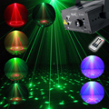 High Quality Full Color RGB Laser Stage Light Projector 3W Blue LED Stage Effect Lighting for