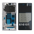 Full Housing Case With Side Button Back Cover For SONY L36h Xperia Z Black Or