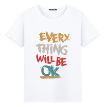 Buy New 2017 Summer Funny OK Design Printed T Shirt Brand Fashion Men's Women Lover Novelty Short Sleeve Casual Tee Tops Size S-5XL for $5.68 in AliExpress store