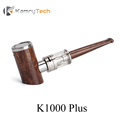 E Pipe Kamry K1000 Plus Wooden Pipe Vape Pen Electronic Cigarette Kit E Hookah Vaporizer with