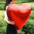 75CM 32inch Red Heart Shape Wedding Balloons Foil Air Balloon Party Love Decorations Marriage Big Balloon