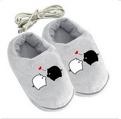 Plush USB Foot Warmer Shoes Soft Electric Heated Slipper Cute Rabbits Multi-Color,Free / Drop Shipping - Super Products Best Service store