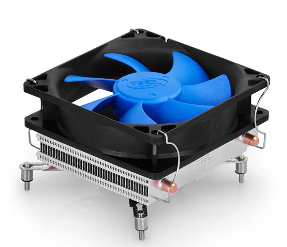 Deep Cool (HTPC-200M)Computer CPU Cooler 92mm Cooling Fan with Heatpipes Heatsink For Socket LGA1156/LGA1155/LGA1150/LGA775(China (Mainland))