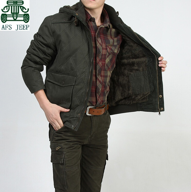 M-4XL Army Green,Khaki 2014 Winter Cashmere Inner Mens 100% Cotton Jacket,afs jeep Mens Sport Keep Warmly Coats,Hooded JacketОдежда и ак�е��уары<br><br><br>Aliexpress