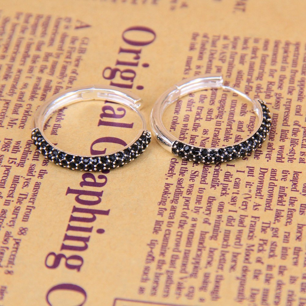 Free shipping 2014 new arrival Hinged hoop cr560-051-11 glam and soul collection Wholesale Super deal lovers birthday gift(China (Mainland))