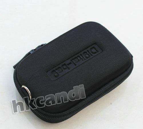 Black DC Hard Bag Digital Camera Case Cavas Pouch portable Cover shoulder backbag canon PowerShot SX IS IXUS - bestgifts store
