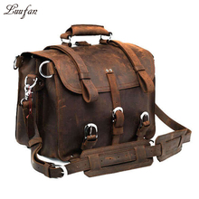 Thick Crazy horse leather travel bag 2 Use travel backpack men's real leather big capacity travel bag Large capacity weekend bag(China (Mainland))