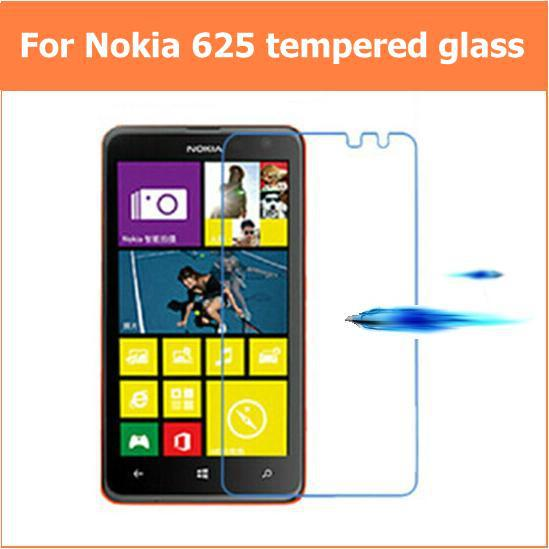 For NOKIA Lumia 625 Premium Tempered Glass Anti-shatter explosion proof LCD Screen Protector Films For Microsoft Lumia 625(China (Mainland))
