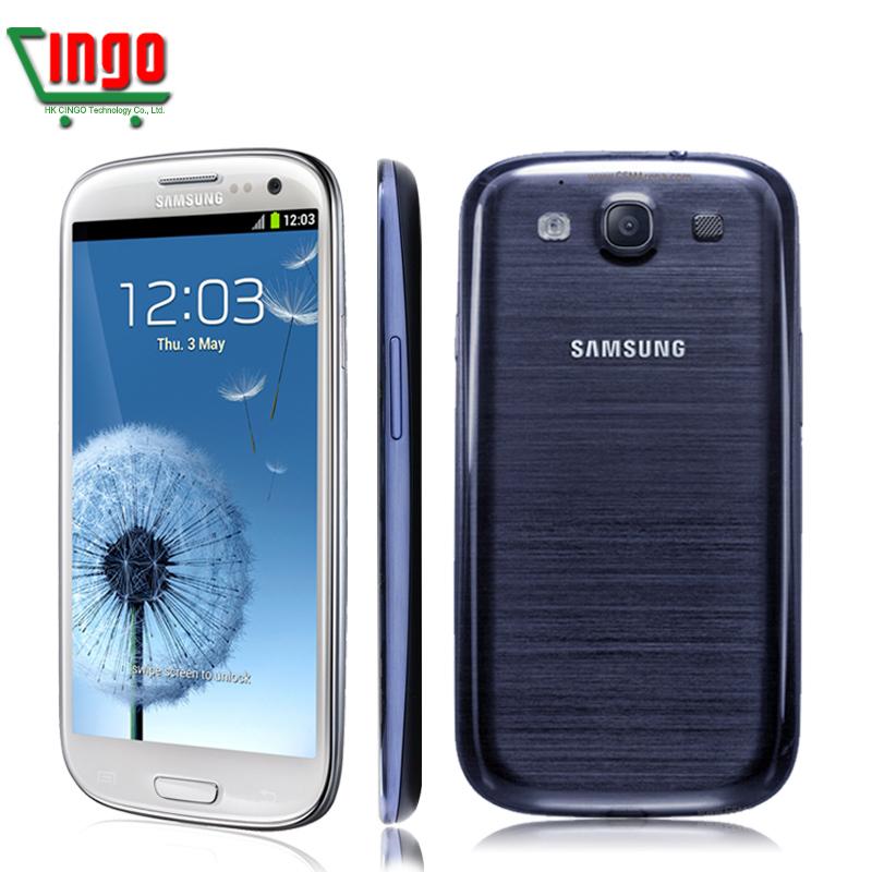 Original Samsung Galaxy S3 I9300 CellPhone Android 4.0 Quad Core 1GB RAM 16GB 8MP Camera 4.8 inches samsung i9300(China (Mainland))