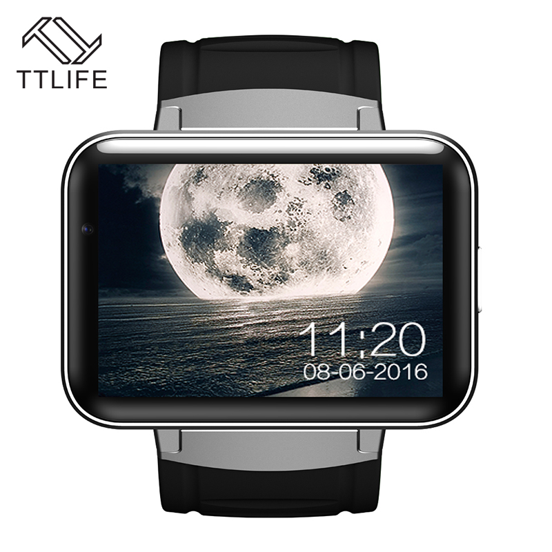 TTLIFE DM98 Smart Watch Fitness Tracker Wristband Watch Android 5.1 System GPS WIFI Smart Phone Watch For iPhone 7 Mobile Phones(China (Mainland))