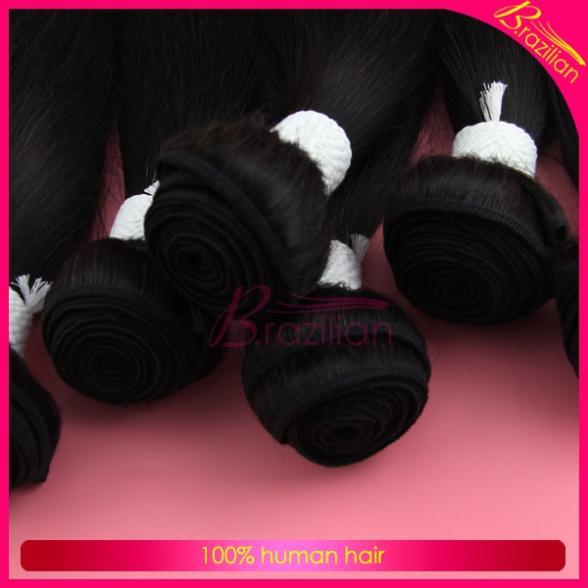 on sale unprocessed human hair straight peruvian hair