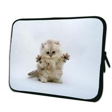 Cute Cat Waterproof Zipper Sleeve 15.4 inch 15.5″ 15.6″ Notebook Computer PC Bags Cover Pouch Laptop Accessories Hot Sale