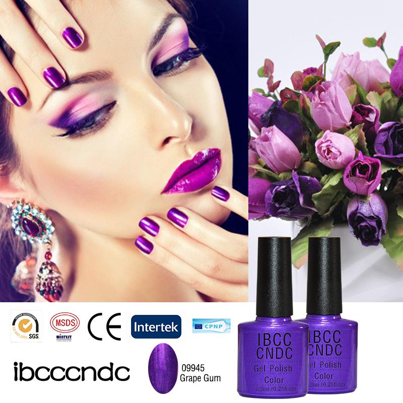 79 Colors Noble Purple Color UV Nail Gel Polish Professional Nail Varnish Art Decorations Stikcer Manicure Nail Lacquer 09945(China (Mainland))