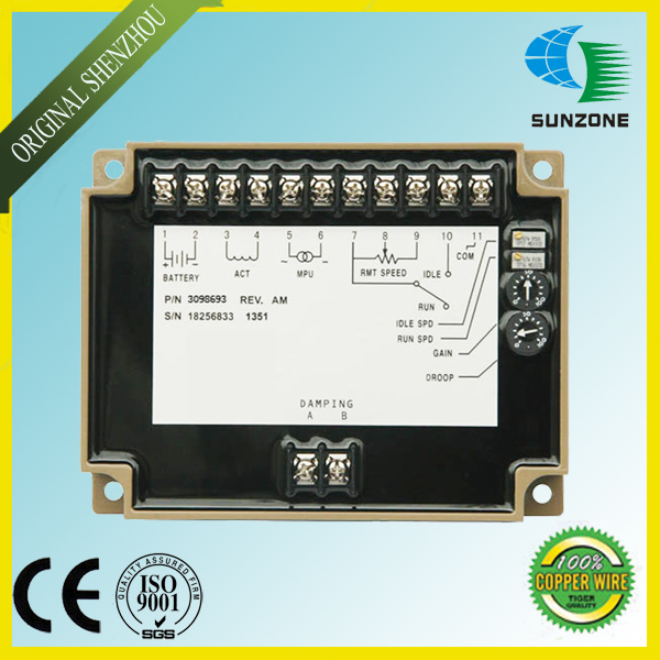 Free Shipping Engine Speed controller Unit EFC 3098693 Speed Governor(China (Mainland))