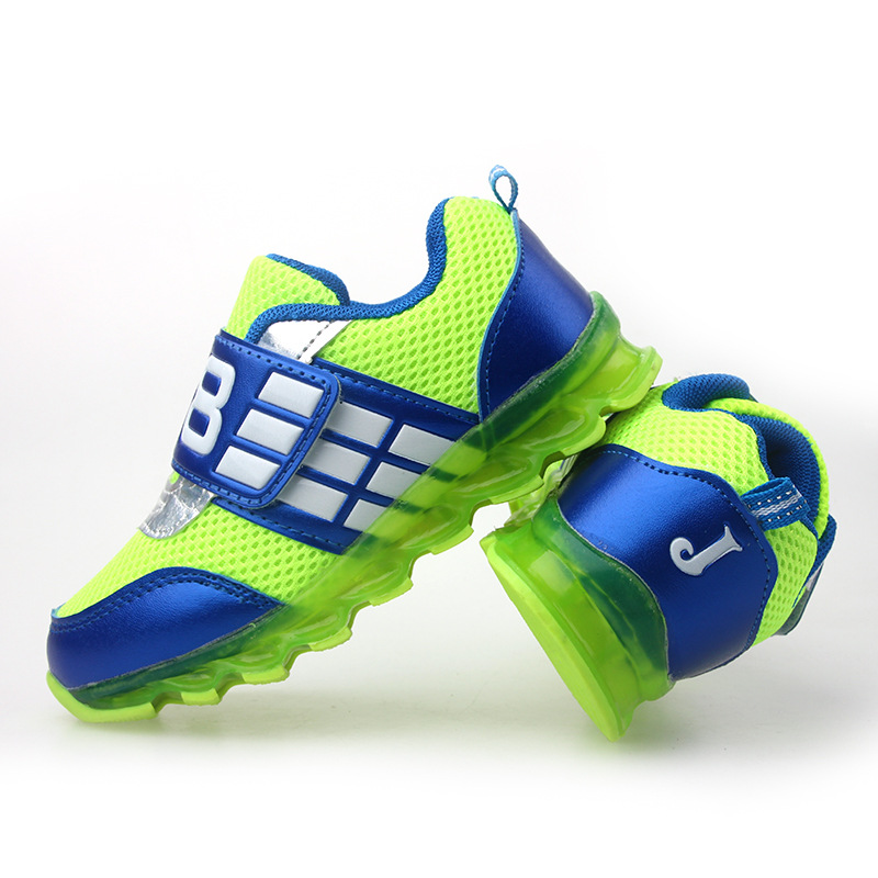 2016 new age children boys and girls light shoes shoes leisure breathable G40 LED lamp(China (Mainland))
