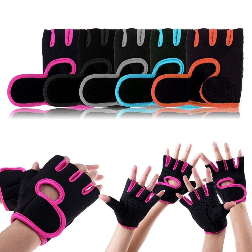 product 1 Pair Sport Fitness Gloves Hombres mujeres deporte Fitness guantes pesas guantes gimnasio ejercicio manopla