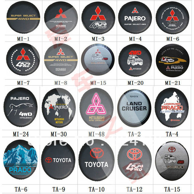 "2013 new Factory direct PU spare tire cover Custom-made 14"" 15"" 16"" 17"" PVC spare wheel cover 70 patterns Free shipping"