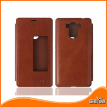 Elephone P9000 Flip Case Window View 100% Original Protector Leather Case Cover For Elephone P9000 Mobile Phone + Free Shipping(China (Mainland))