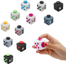 Buy 3.3*3.3cm Mini Fidget Cube Toy Vinyl Desk Finger Toys Squeeze Fun Stress Reliever High Antistress Puzzle Cubo Toys Gifts for $1.23 in AliExpress store