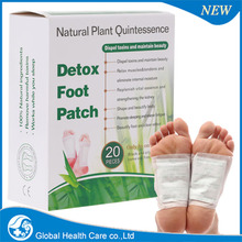 20 packs =40 pcs pads +40pcs adhesive, Detox Foot Patch, with retail box, free shipping