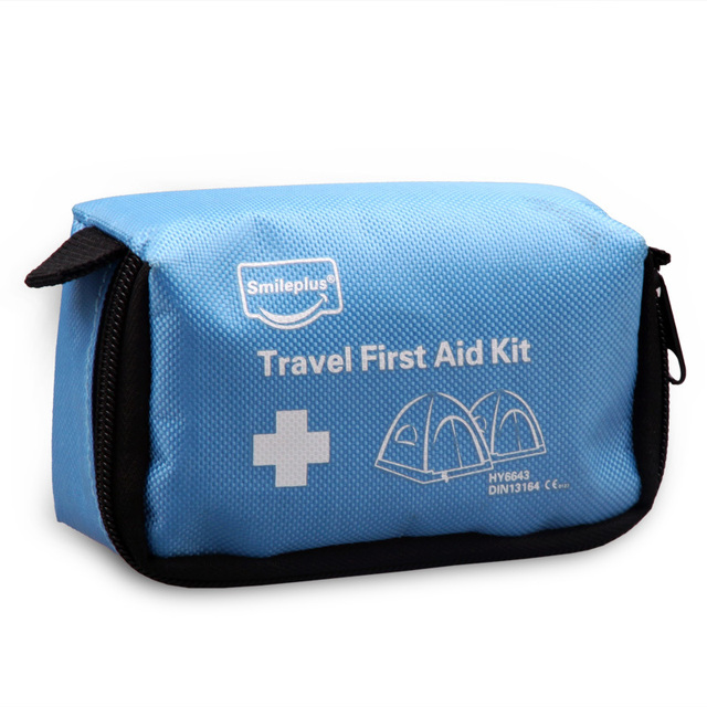 CE.FDA Saferlife Co Blue travel first aid kit small carry 48.4 For promotion