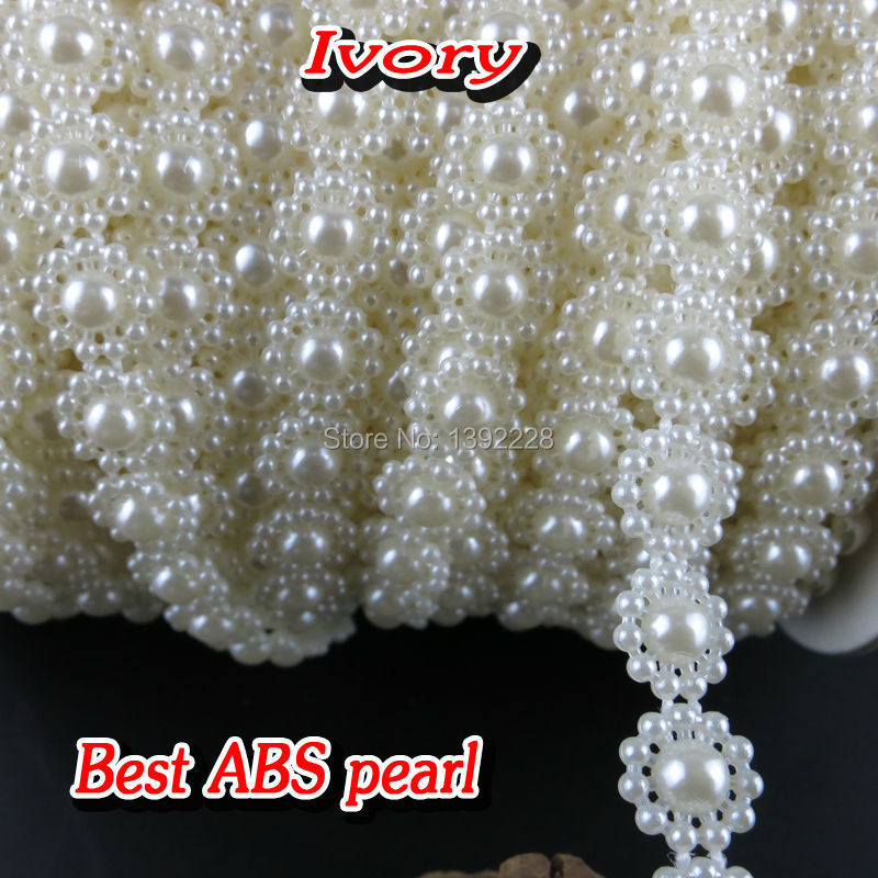 High Quality Sewing on Rhinestone 9mm 25m/roll Acrylic Flatback Applique Strass Crystals Stones For Clothes Crafts Decorations(China (Mainland))
