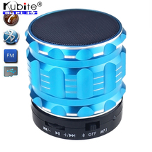 Kubite S28 Portable Mini Bluetooth Speaker Wireless Super Bass Smart Handsfree Speakers With Mic FM Radio Support TF/SD Card(China (Mainland))