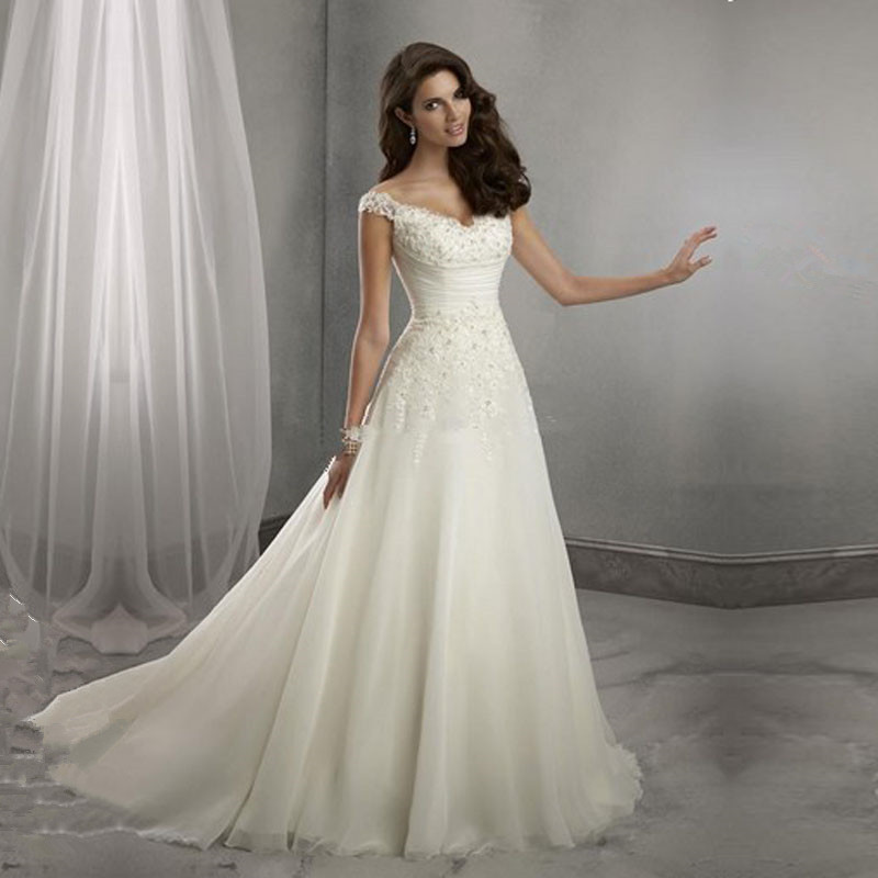 Buy new organza wedding dresses cap for Where to buy yasmine yeya wedding dresses