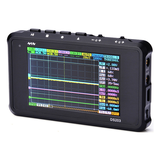 Гаджет  DBPOWER Digital Oscilloscope ARM DSO203 Pocket DS203 Oscilloscope Cortex M3 CPU 8MHz Handheld Osciloscopio Digital with Aluminum None Инструменты
